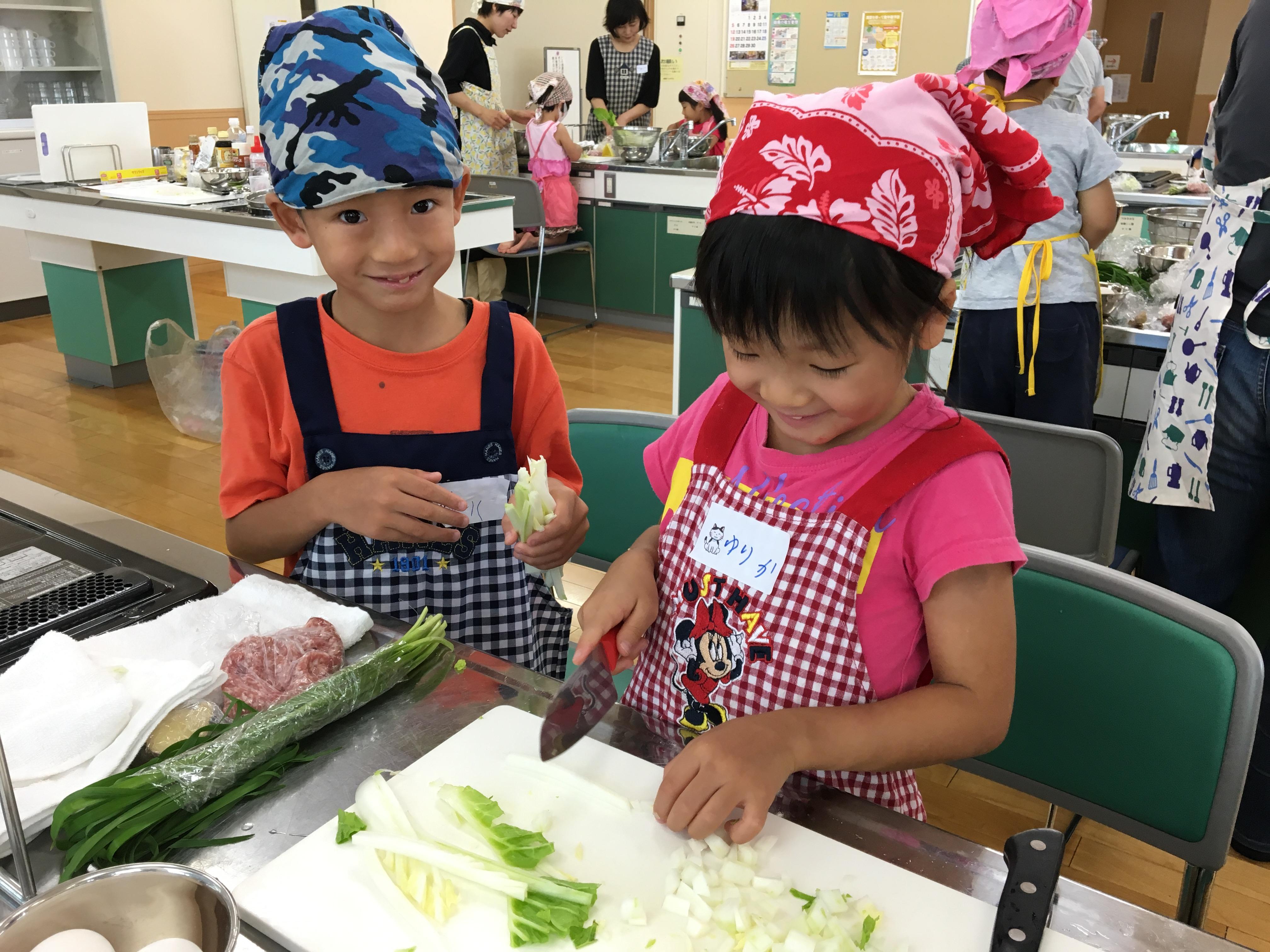 指定管理者主催 料理教室・食育講座